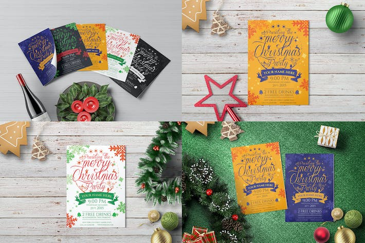 Thumbnail for Christmas Party - Flyer Template 03