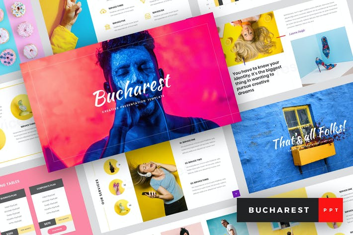 Thumbnail for Bucharest - Creative PowerPoint Template