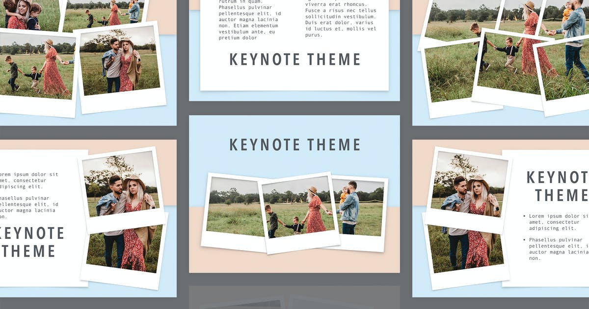 Download Family Album Keynote Template by Jumsoft