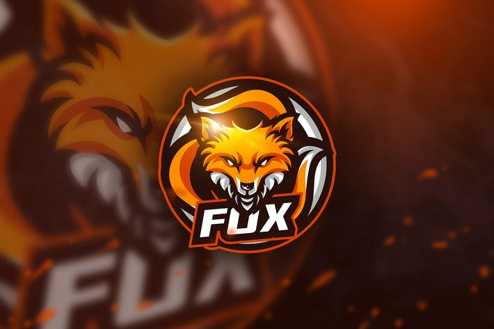 Thumbnail for Circle Fox - Mascot & Esport Logo