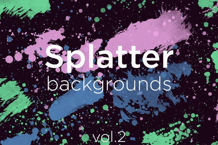Thumbnail for Splatter Backgrounds 2