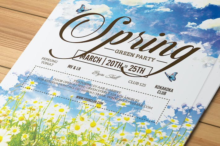 Thumbnail for Spring Event Flyer / Invitation