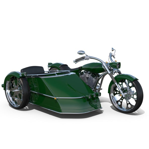 Cover Image for Chopper with Sidecar