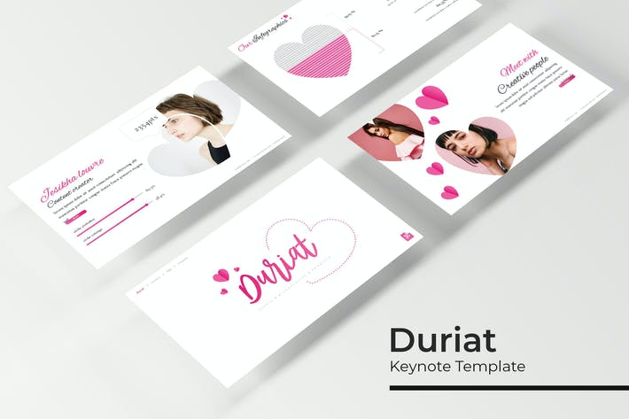 Thumbnail for Duriat - Keynote Template