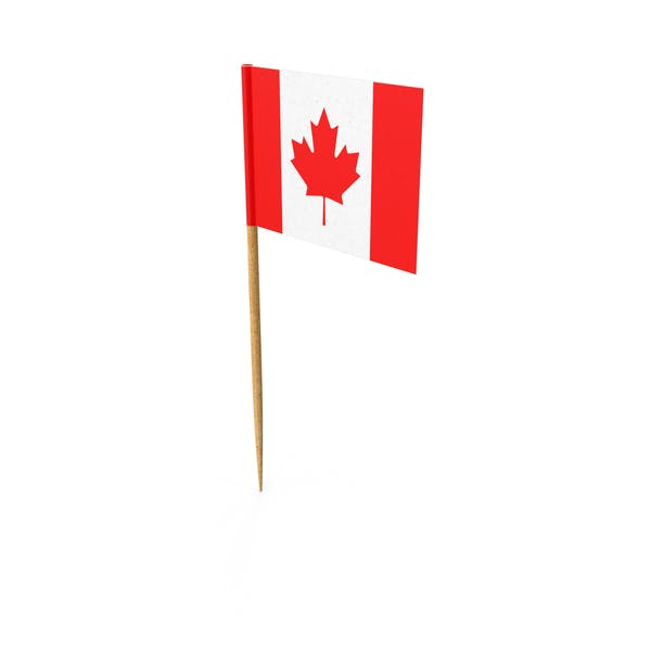 Cover Image for Toothpick Canadian Flag