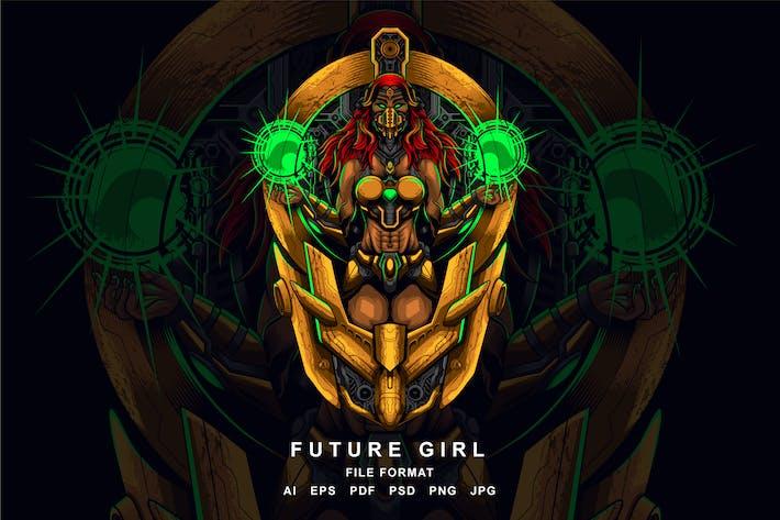 Chica del futuro