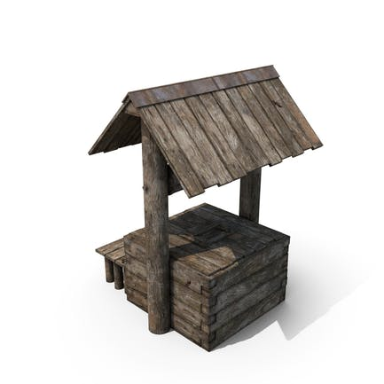 Pozo de madera vieja
