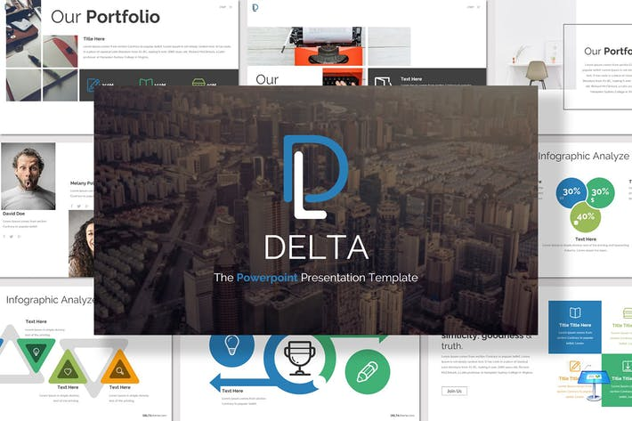 Thumbnail for Delta - Keynote Template