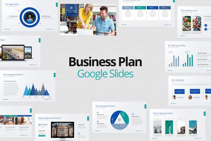 Thumbnail for Business Plan Google Slides
