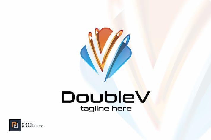 Thumbnail for Double V / Letter V - Logo Template