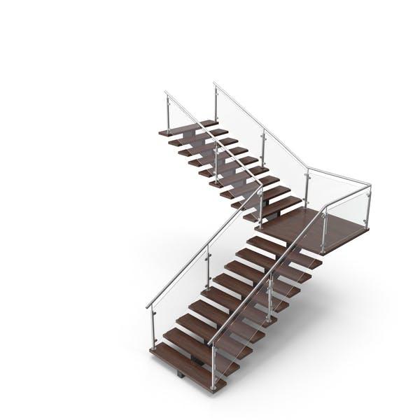 Modern L Stair