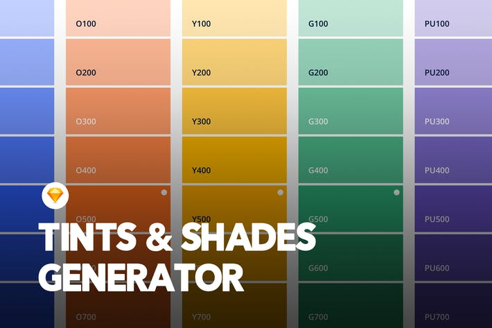 Thumbnail for Color Palette Generator - Sketch