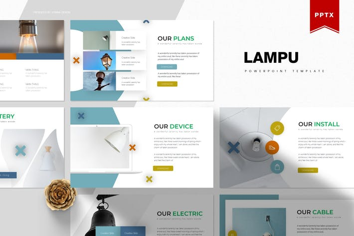 Thumbnail for Lampu | Powerpoint Template