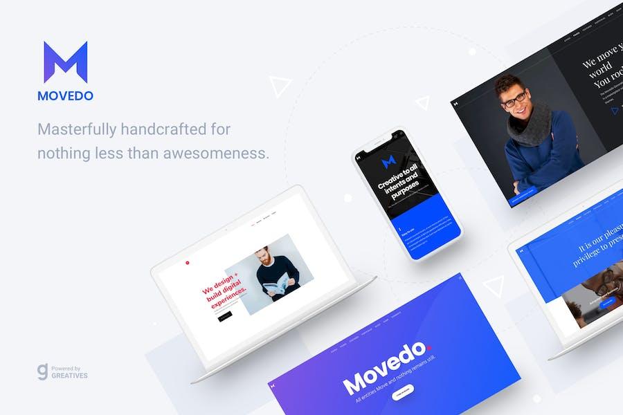 MoveDo - Responsive Multipurpose WordPress theme