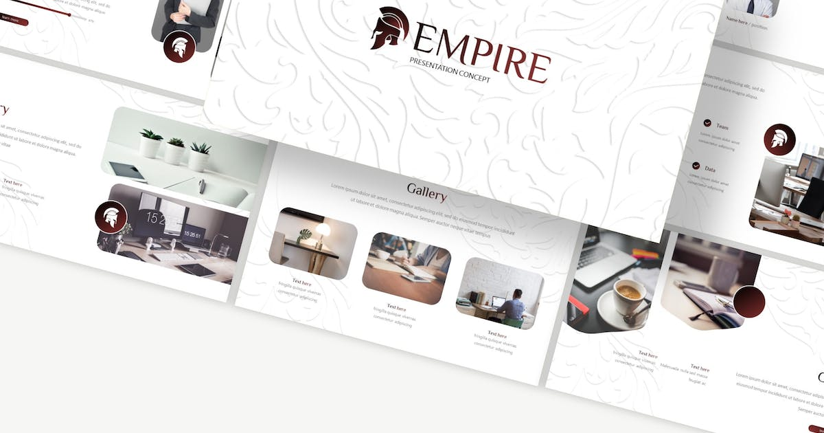 Download Empire - Keynote Template by Macademia