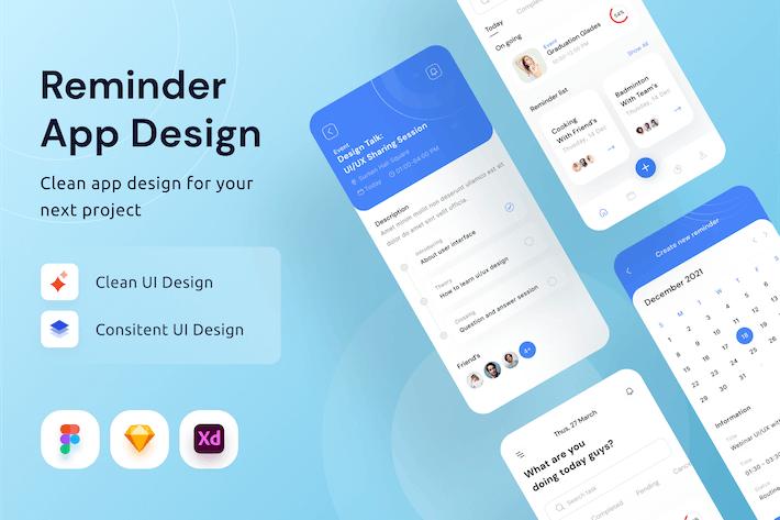 Reminder App Design