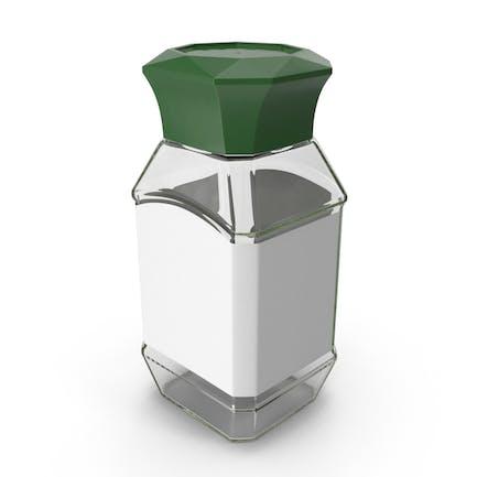 Empty Coffee Container