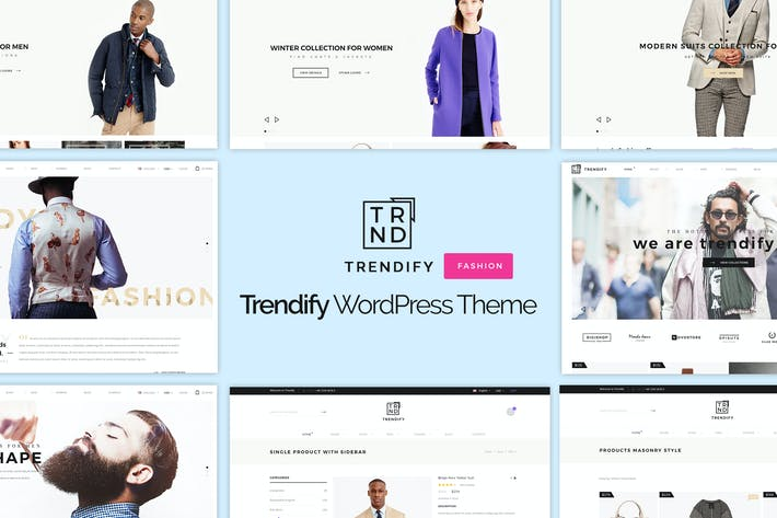 Thumbnail for Trendify - Fashion eCommerce WordPress Theme