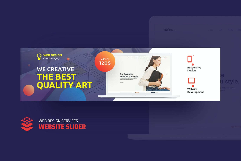 Web Design Services Website Slider By Ldnstudio On Envato Elements