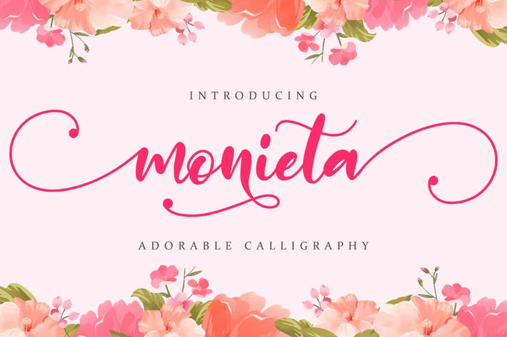 Thumbnail for Monieta - Adorable Script