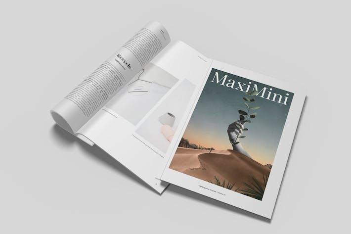 Thumbnail for Minimalist Magazine Mockup Vol. 2