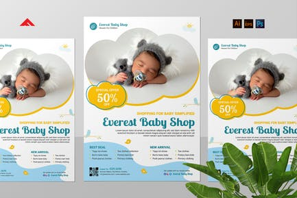 Baby Product Campaign Flyer