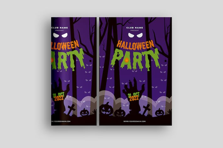 Thumbnail for Halloween Poster Promotion
