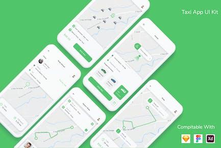 Taxi App UI Kit