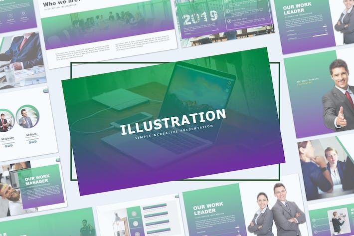 Thumbnail for ILLUSTRATION - Powerpoint Template