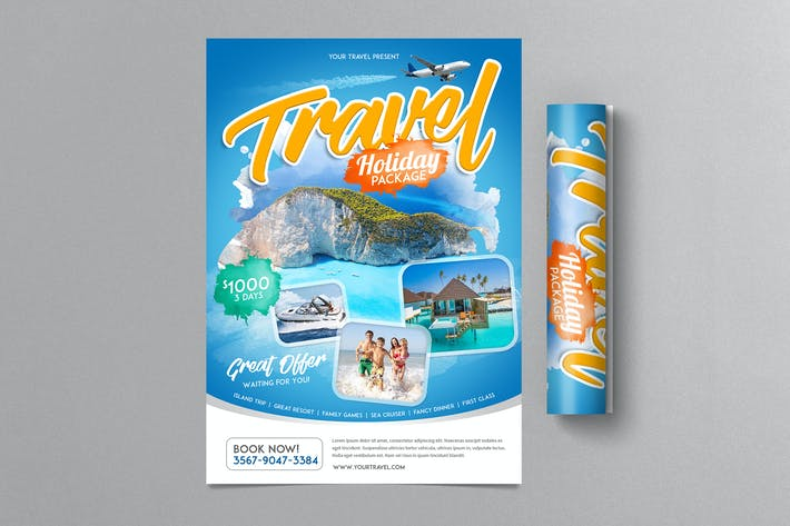 Thumbnail for Travel Holiday Flyer