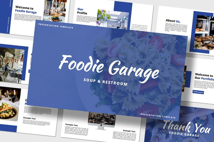 Thumbnail for Foodie - PowerPoint Template
