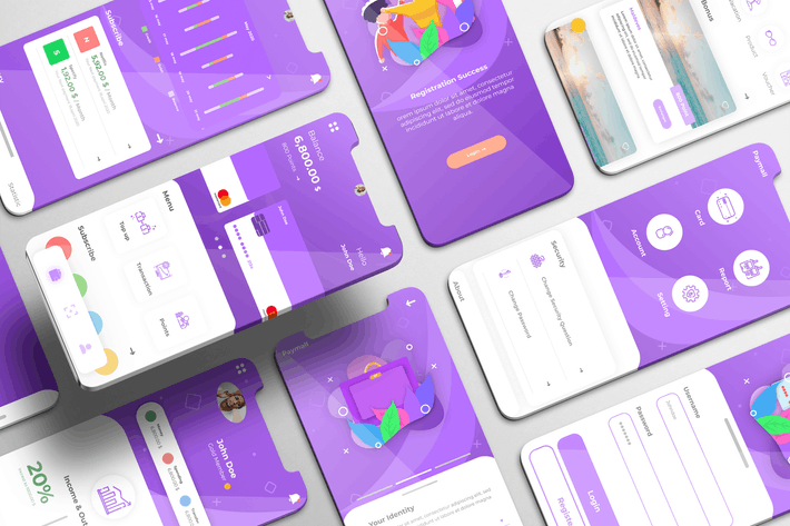 Thumbnail for Paymall UI Kit - Payment Services Apps