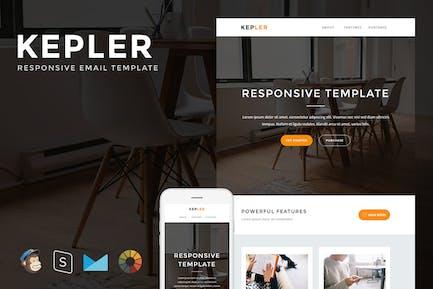 Kepler - Responsive Email + StampReady Builder
