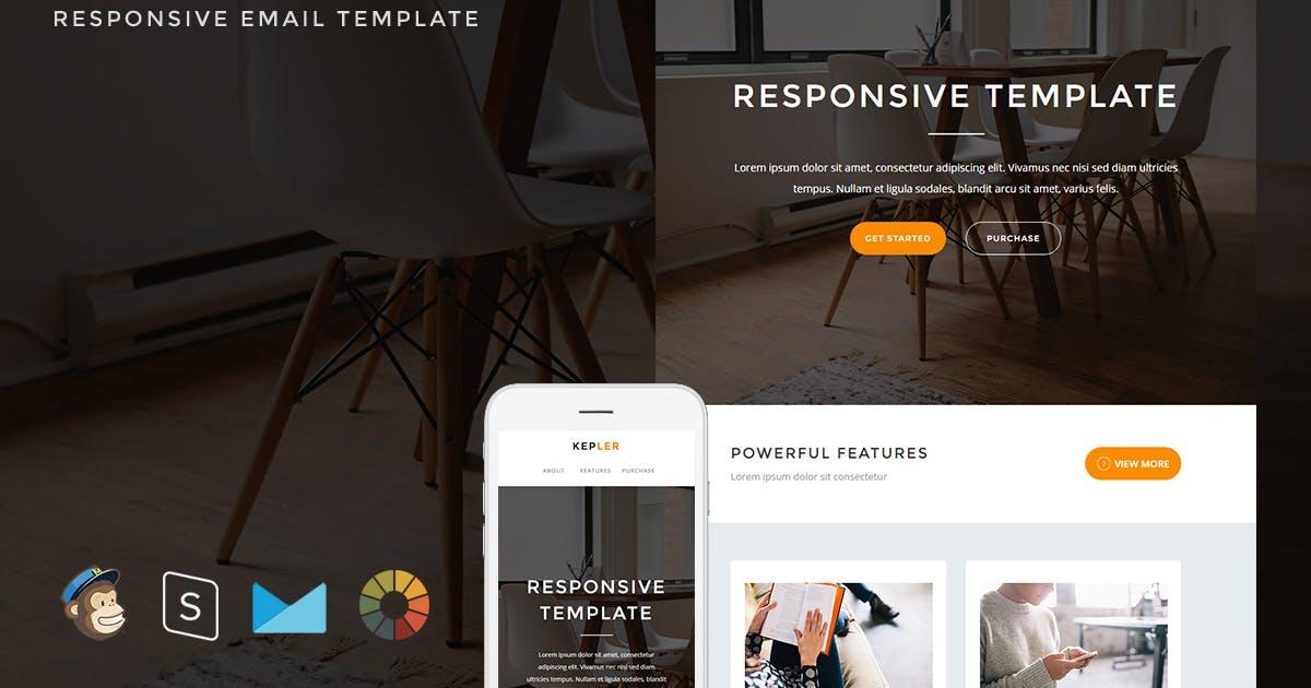 Kepler - Responsive Email + StampReady Builder by LEVELII