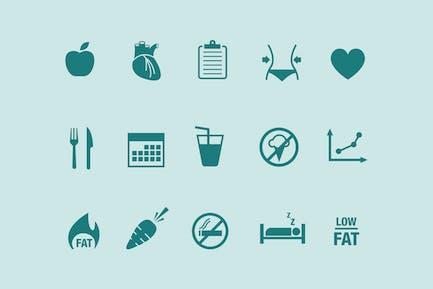 15 Íconos de dieta