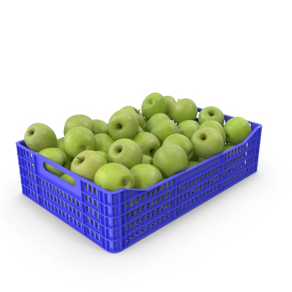 Granny Smith Apple Crate