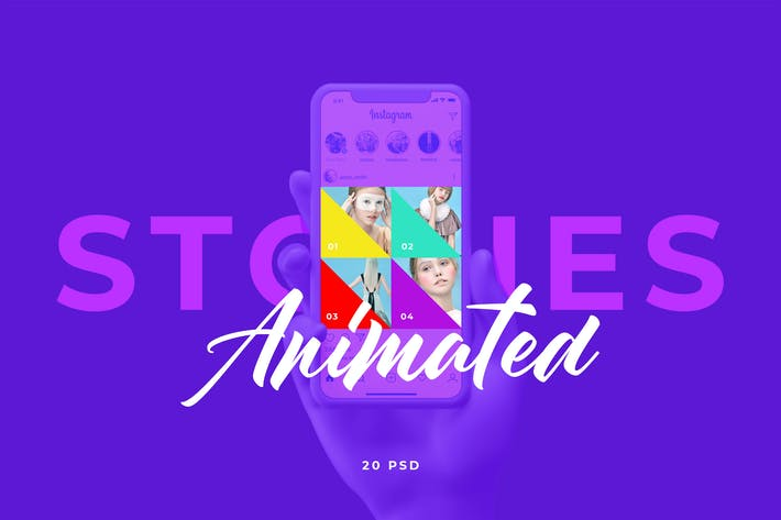 Thumbnail for Animated Instagram Post 01