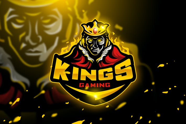 Cover Image For Kings Gaming - Mascot & Esport logo