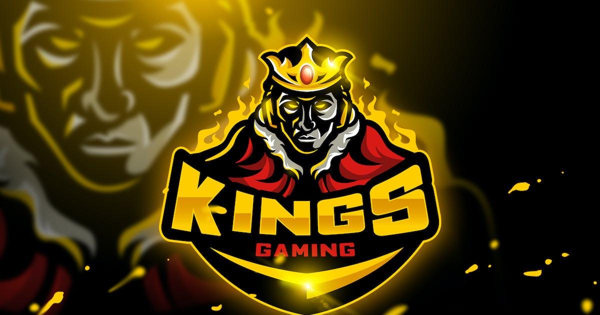 Download Kings Gaming - Mascot & Esport logo by aqrstudio