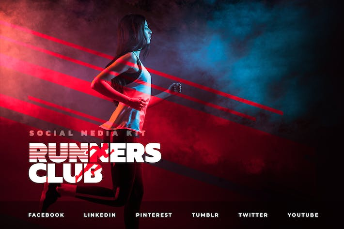 Thumbnail for Runners Club – Social Media Kit