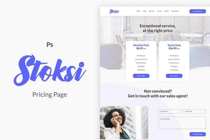 Stoksi Pricing Page