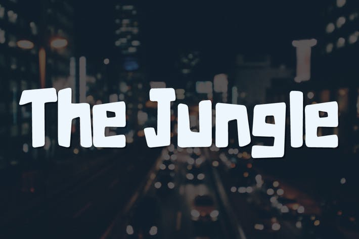 Thumbnail for The Jungle  Typeface