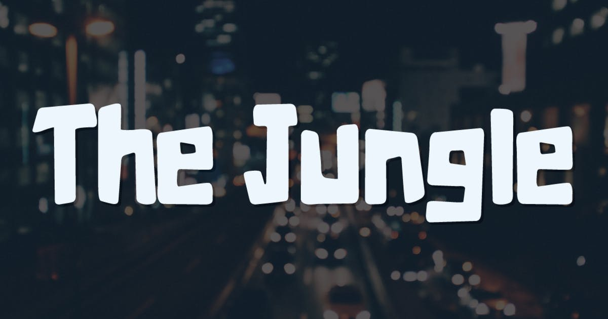 Download The Jungle  Typeface by AnnaIvanir