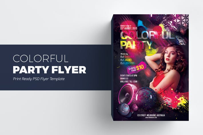 4160 Flyer Graphic Templates Compatible With Adobe Photoshop And
