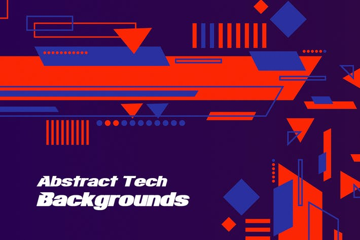 Thumbnail for Abstract Tech Backgrounds