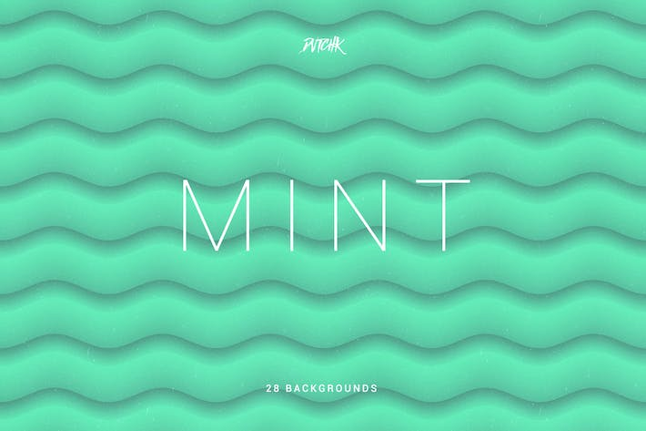 Thumbnail for Mint | Soft Abstract Wavy Backgrounds