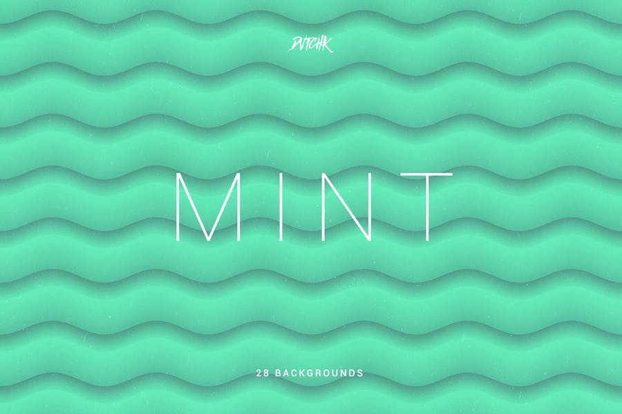 Mint   Soft Abstract Wavy Backgrounds