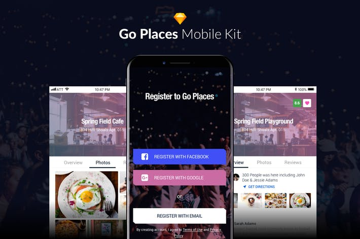Thumbnail for Go Places - Mobile Kit