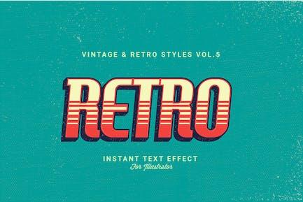 Винтажные и ретро стили Vol.5