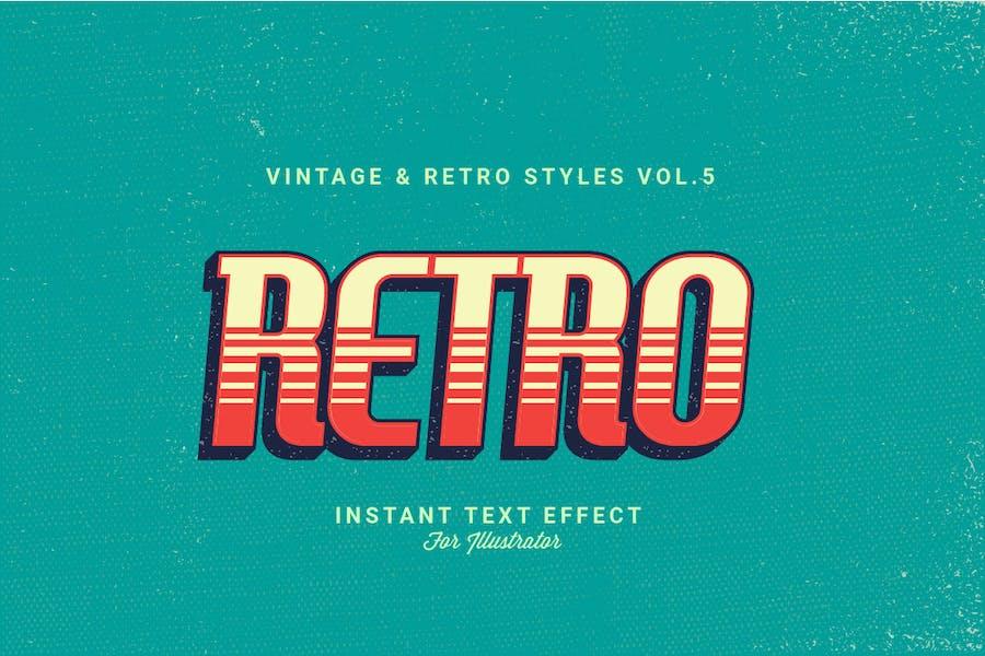 Vintage and Retro Styles Vol.5